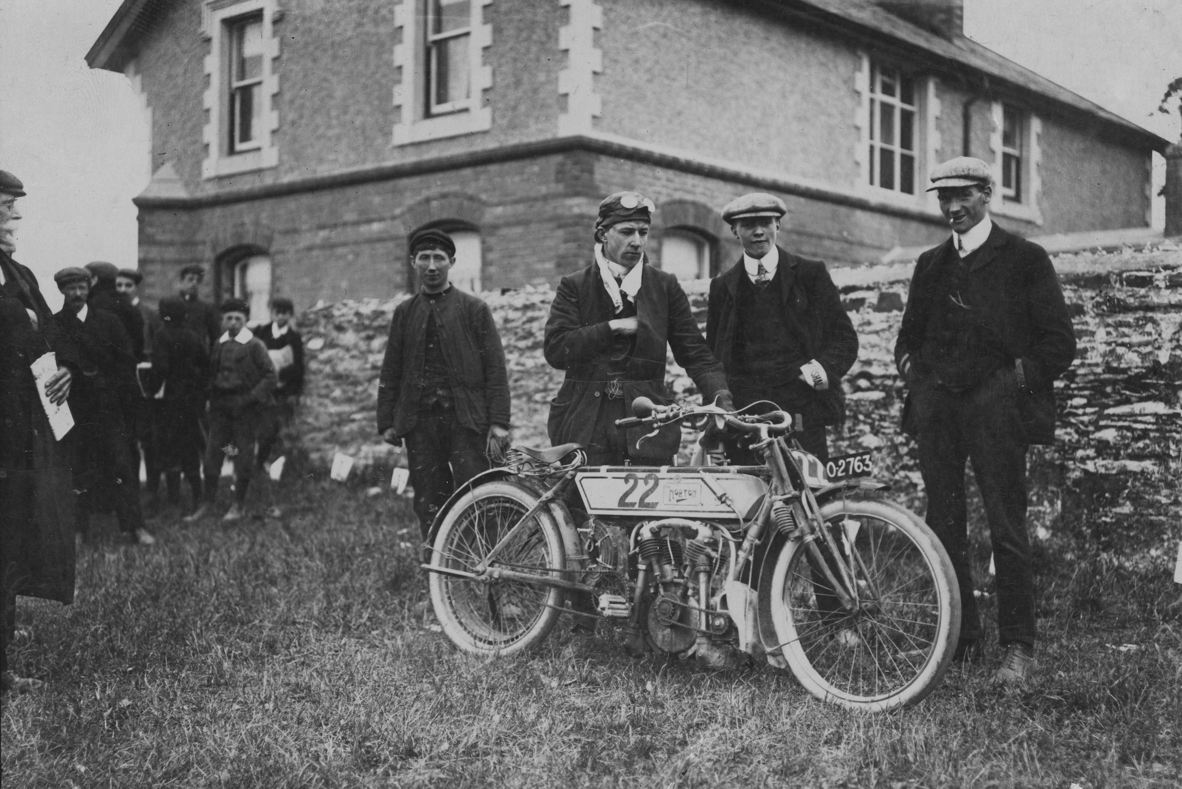 Freeze Frame: The first Isle of Man TT race