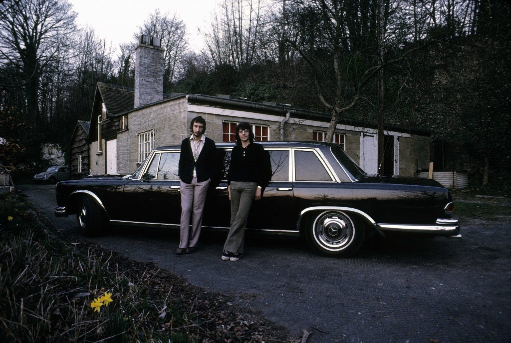 Peter Townshend and his Mercedes-Benz 600 Pullman Limousine