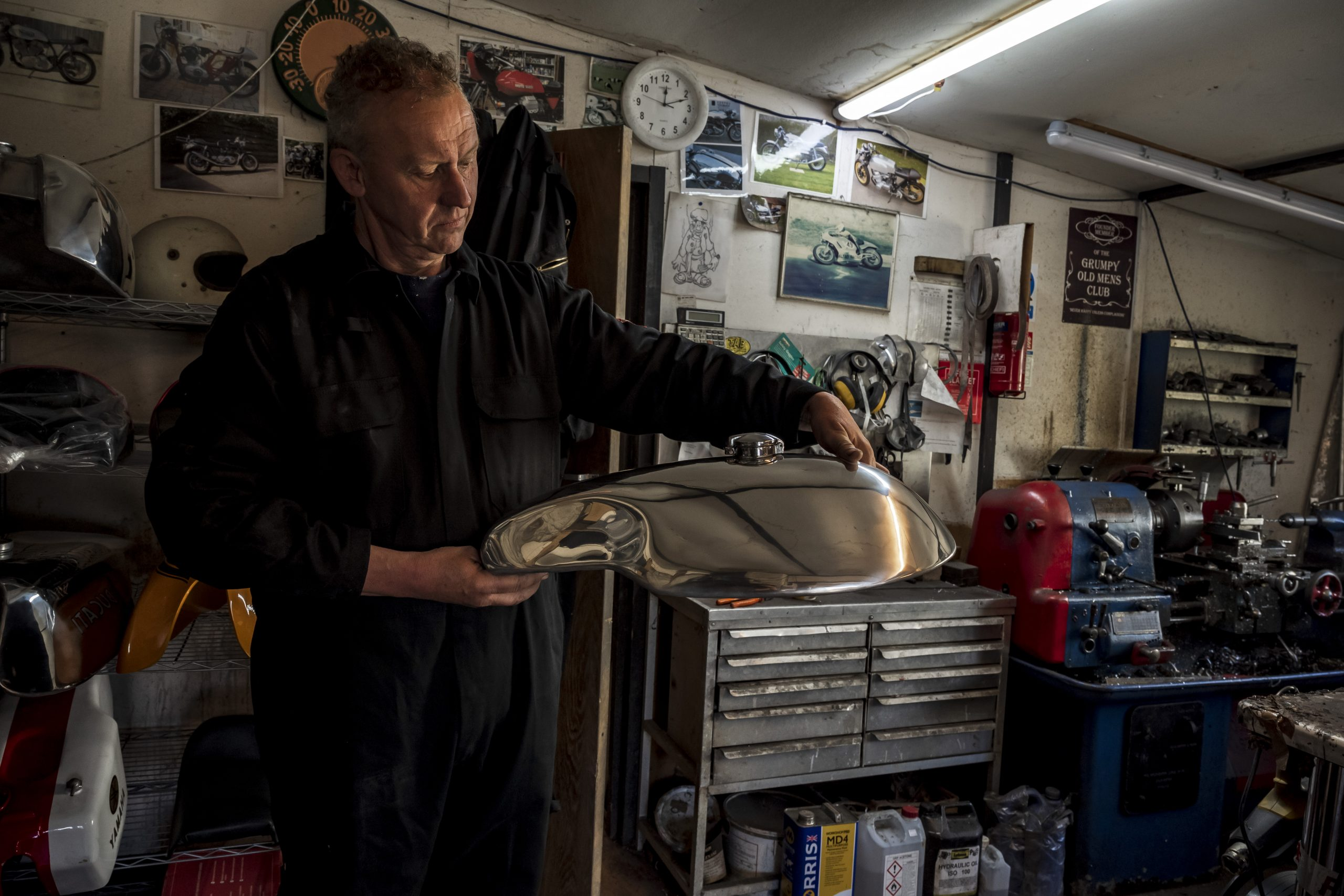 Tanked up: Learning to make aluminium fuel tanks with Tab Classics