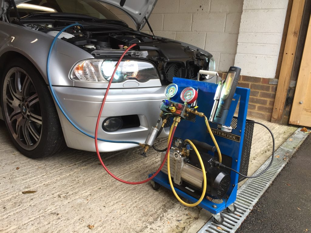 BMW M3 E46 air con regas and service