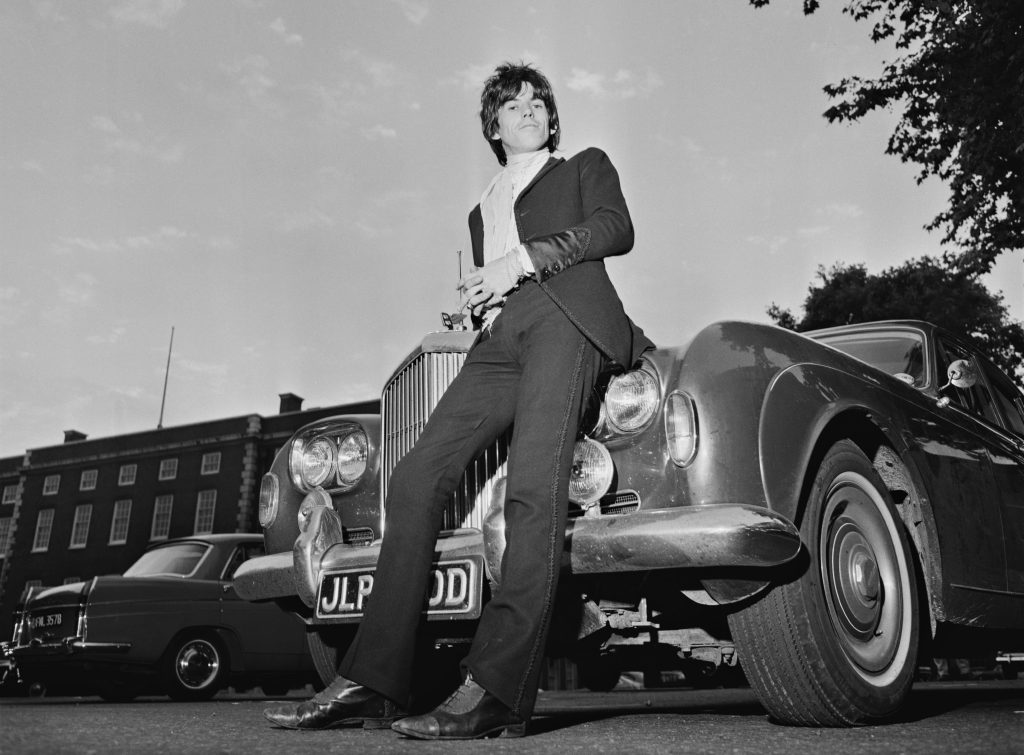 Keith Richards: Bentley S3 Continental Flying Spur