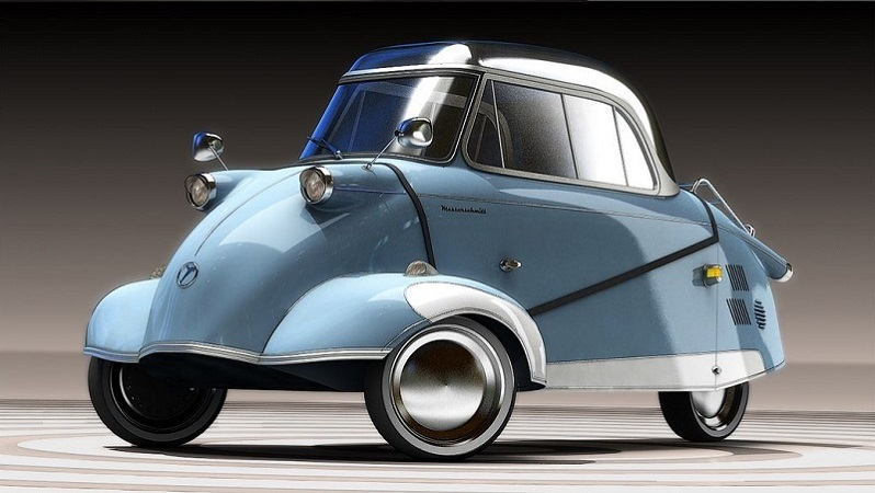 The Messerschmitt flies again under electric power