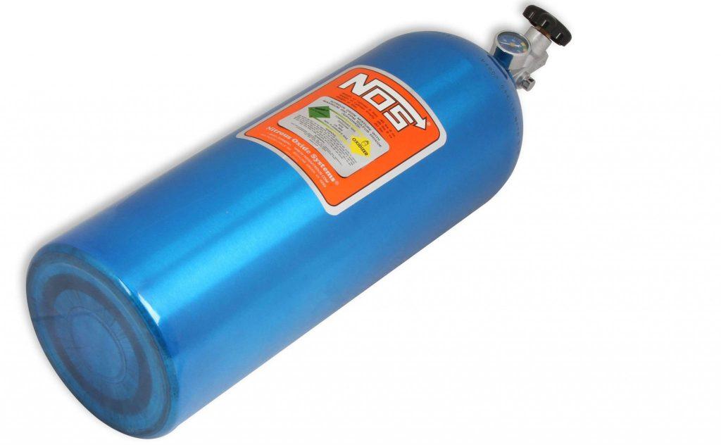 NOS nitrous oxide bottle