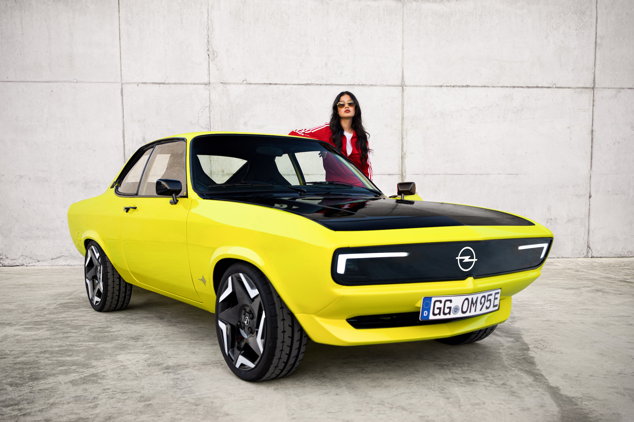 New Opel Manta ElektroMOD fuses 70s cool with 2020s tech