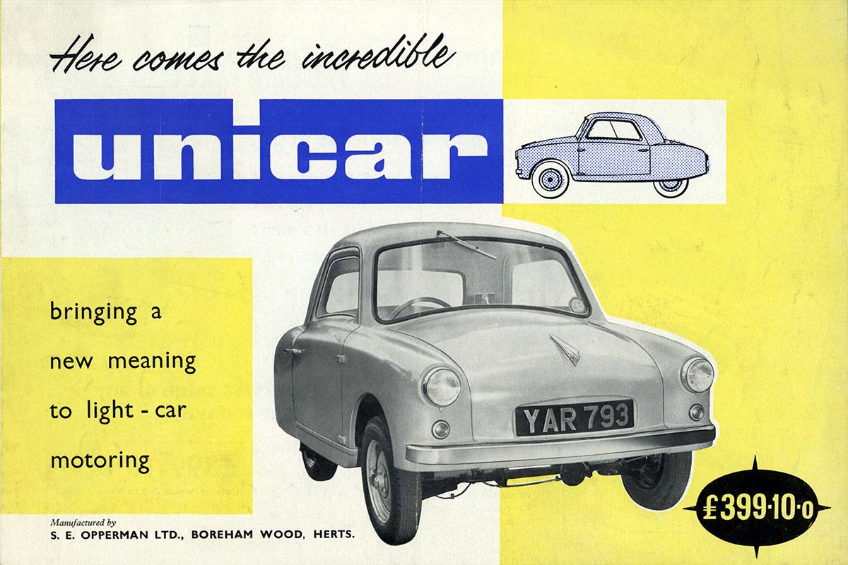 Cars that time forgot: Opperman Unicar