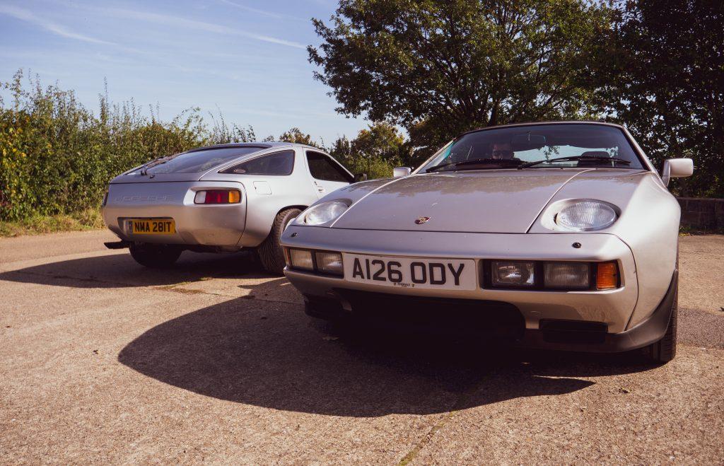 Alistair Walter's Porsche 928s