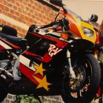 The One That Got Away: Maria Costello and her Suzuki RGV250