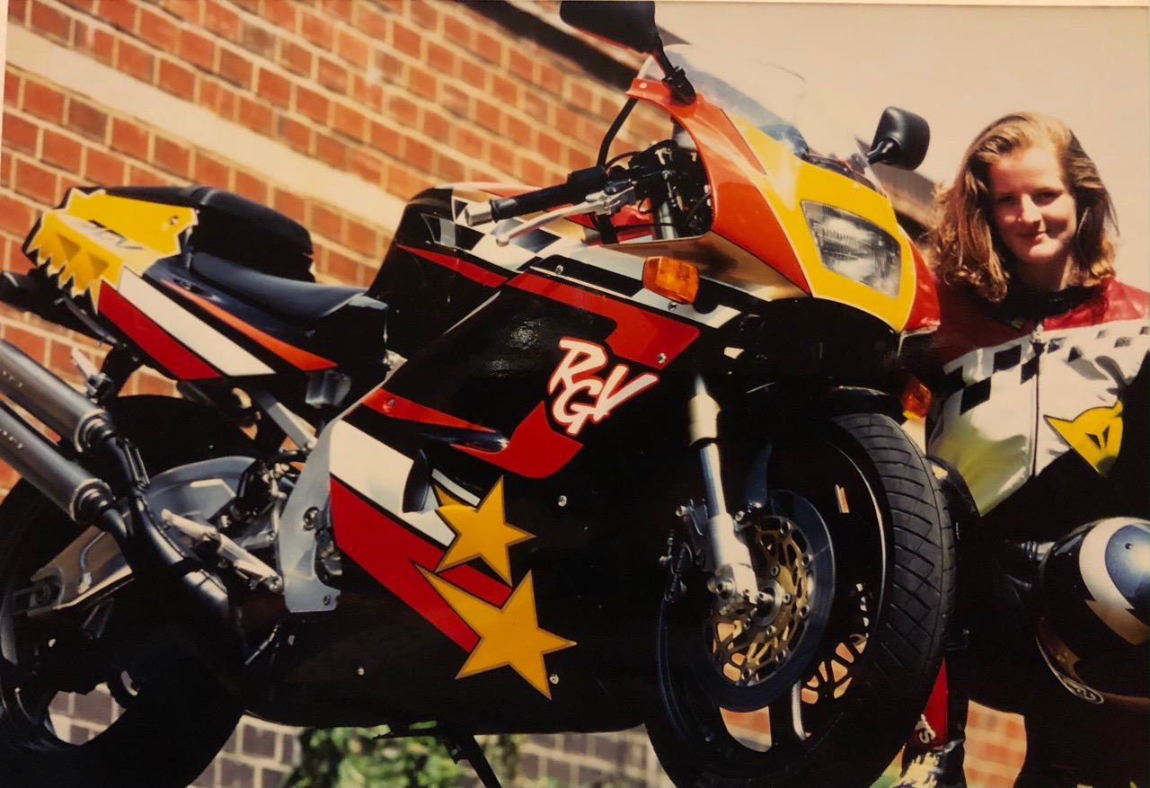The One That Got Away: Maria Costello and her Suzuki RGV250