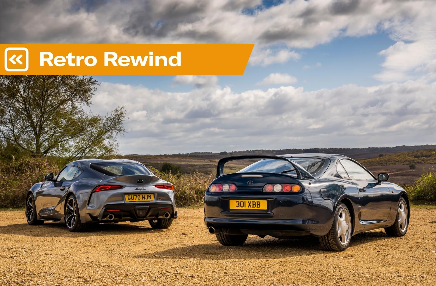 Retro Rewind: Mk4 Toyota Supra vs Mk5 Toyota Supra