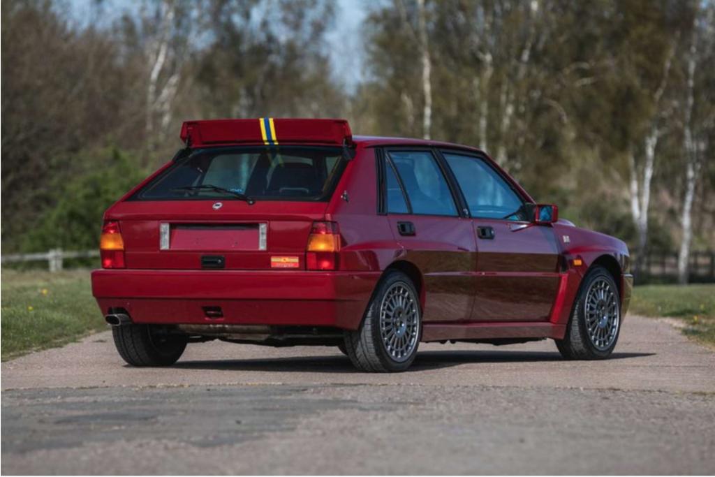 Lancia Delta Integrale Silverstone Auctions