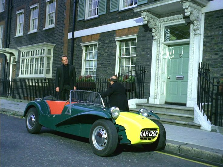 The Lotus Seven from The Prisoner TV show
