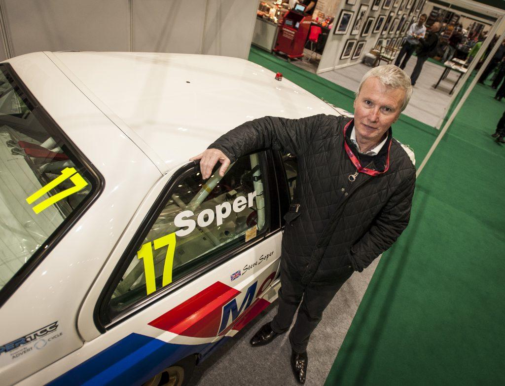 Steve Soper touring car driver