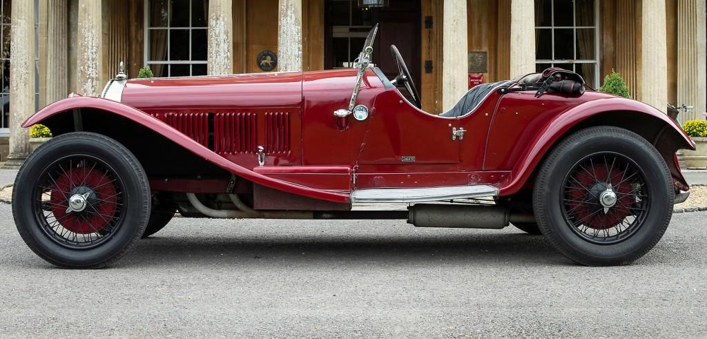1929 Alfa Romeo 6C by Zagato