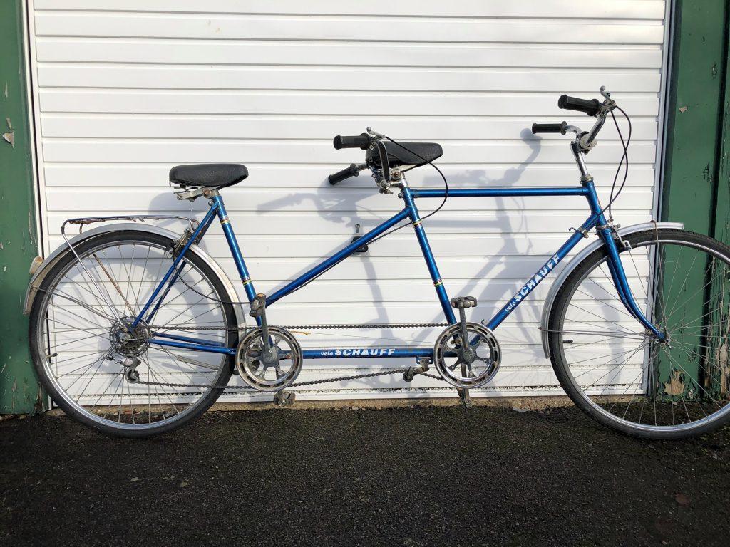 1972 Schauff tandem bike