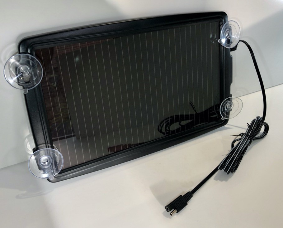 Halfords 2.4w solar battery charger