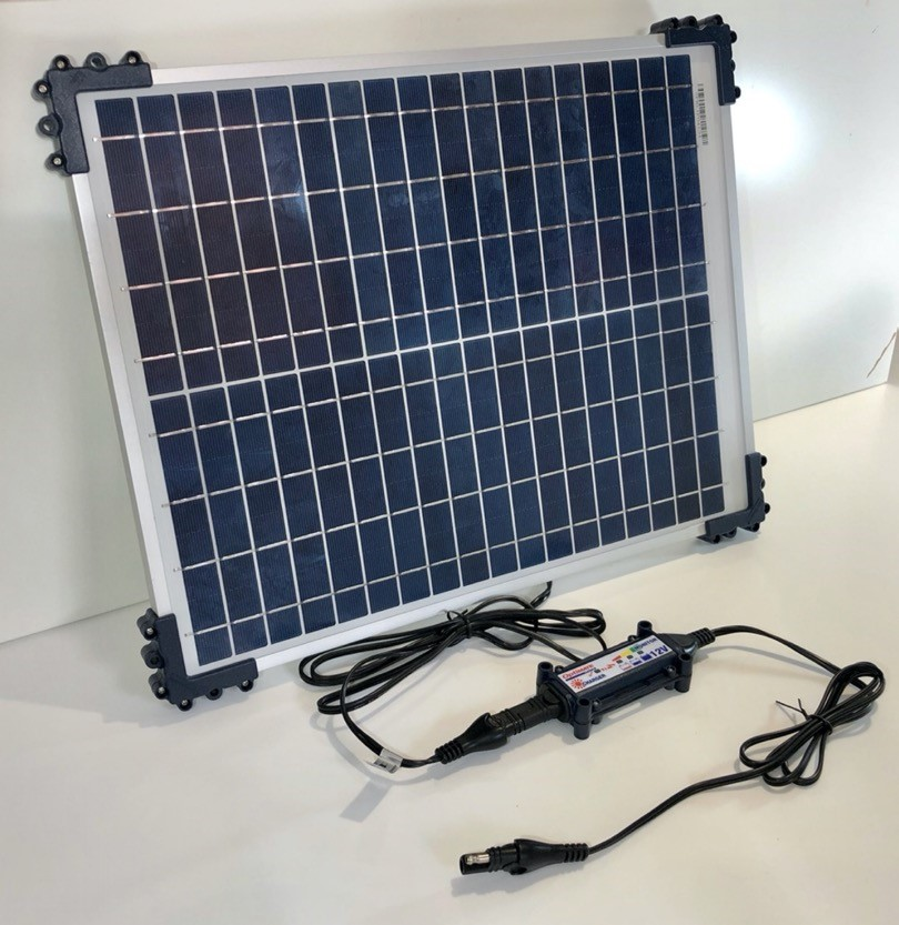Optimate solar battery charger
