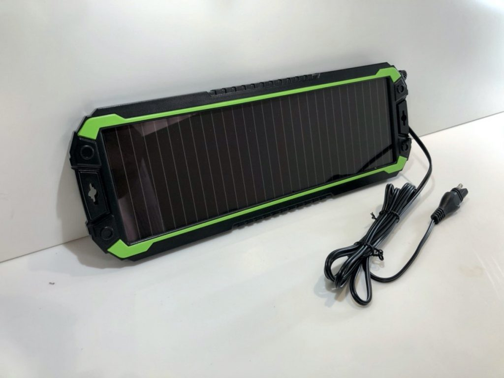 Sealey solar battery charger