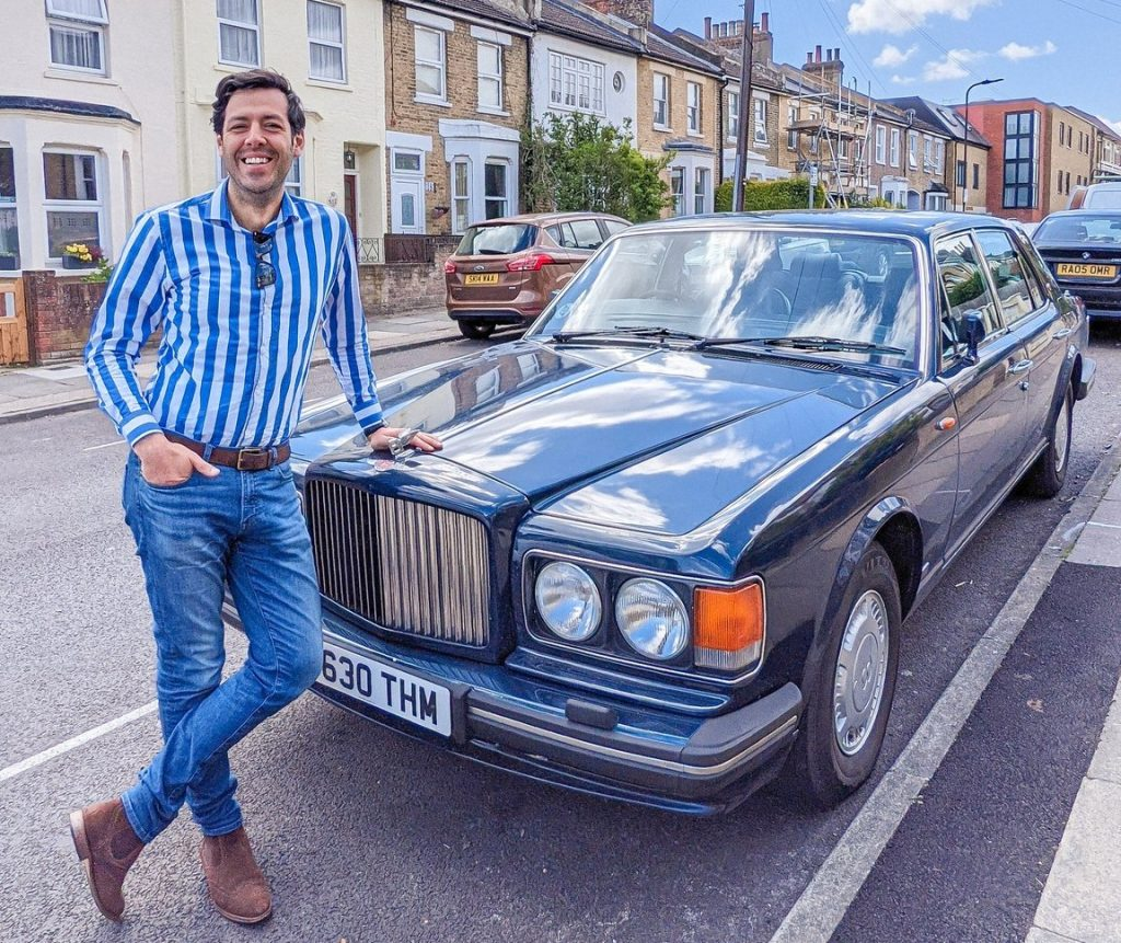 Luca Lucchesi and his Bentley will be impacted by the ULEZ