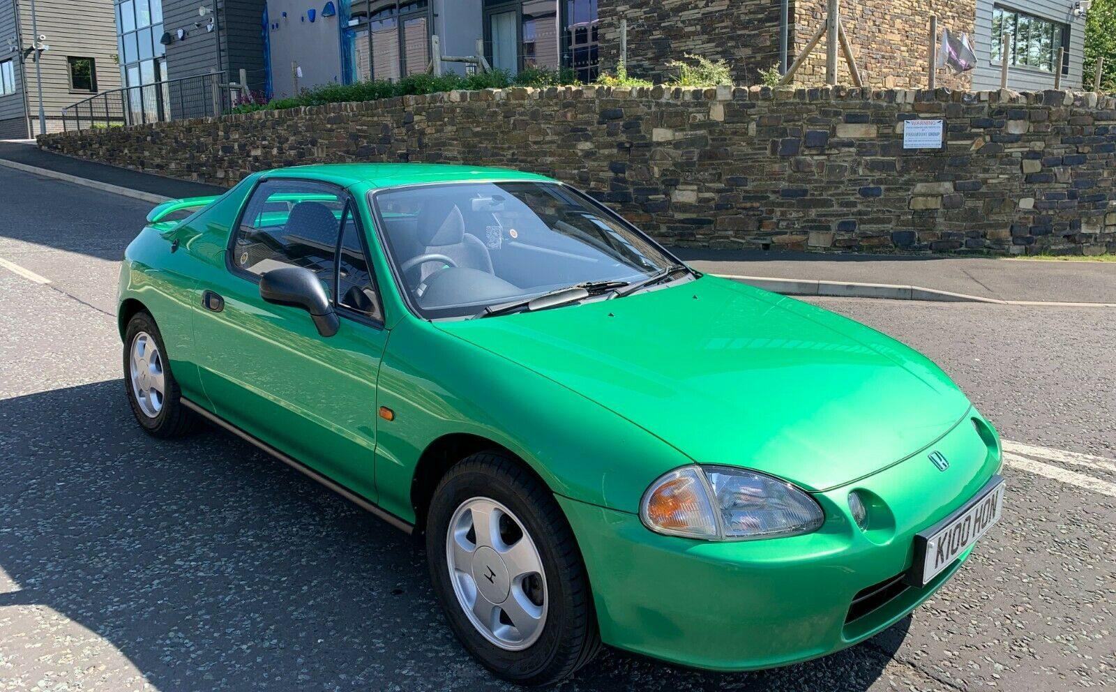 This samba green Honda CRX is the holy grail of weird Hondas