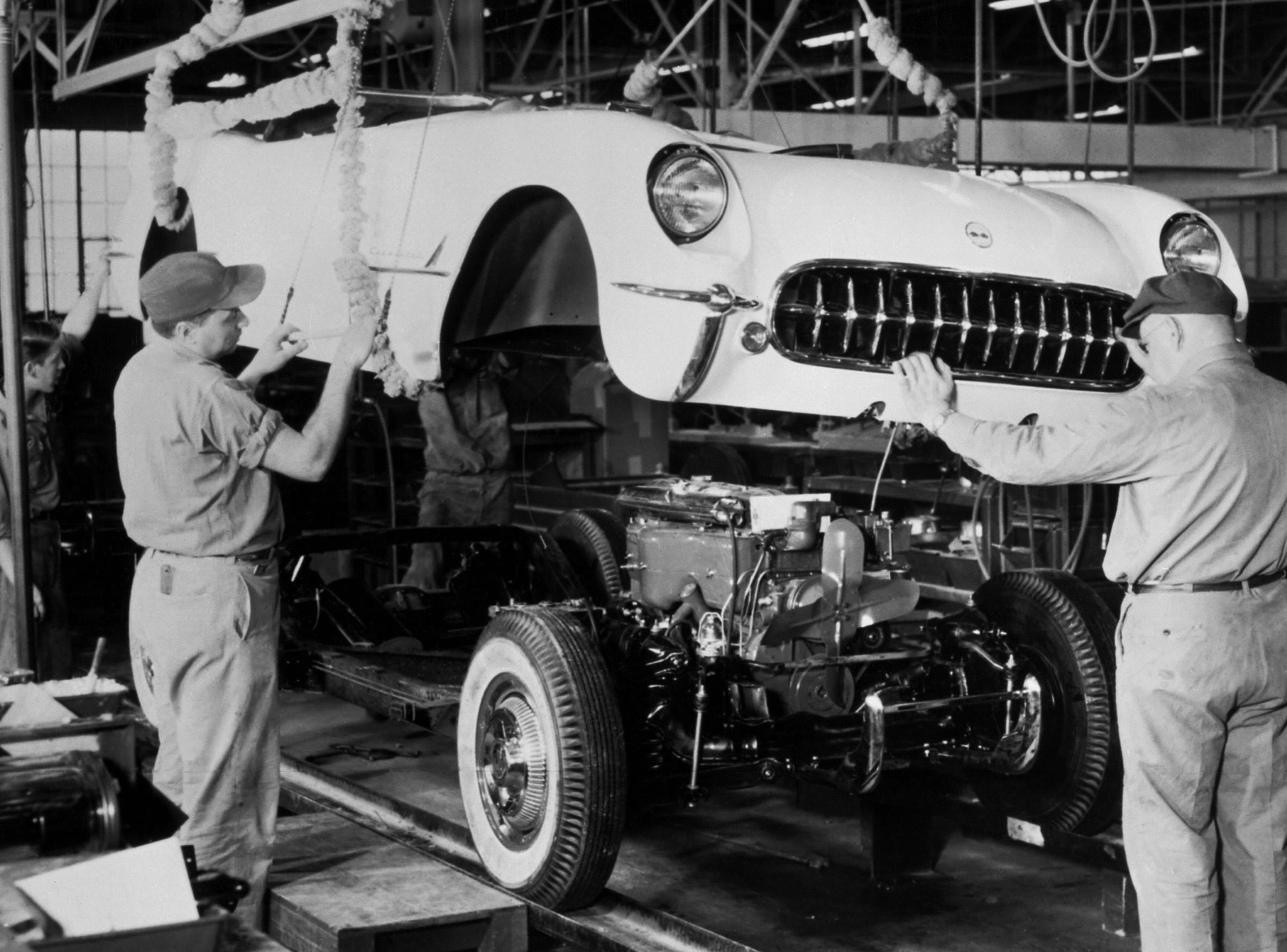 Freeze Frame: Chevrolet Corvette production is go!
