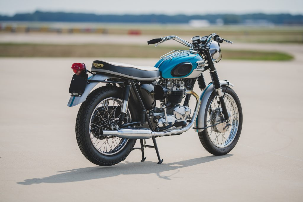 1965-Triumph-Bonneville-T120R is one of the hot collectable motorcycles