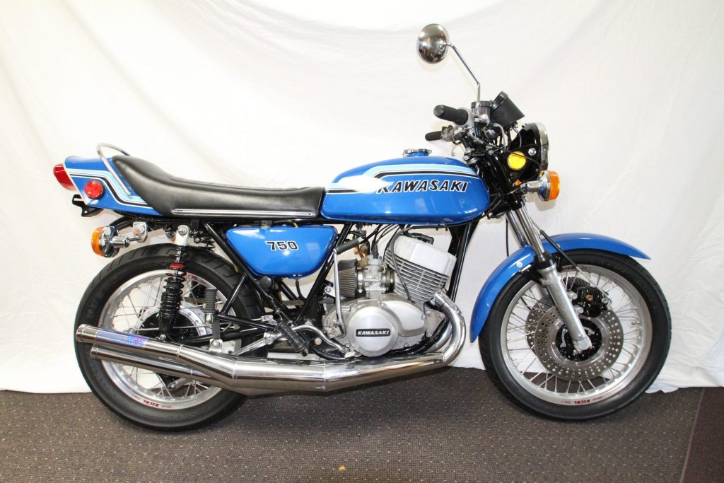 1972 Kawasaki H2 750cc is highly collectable_Hagerty