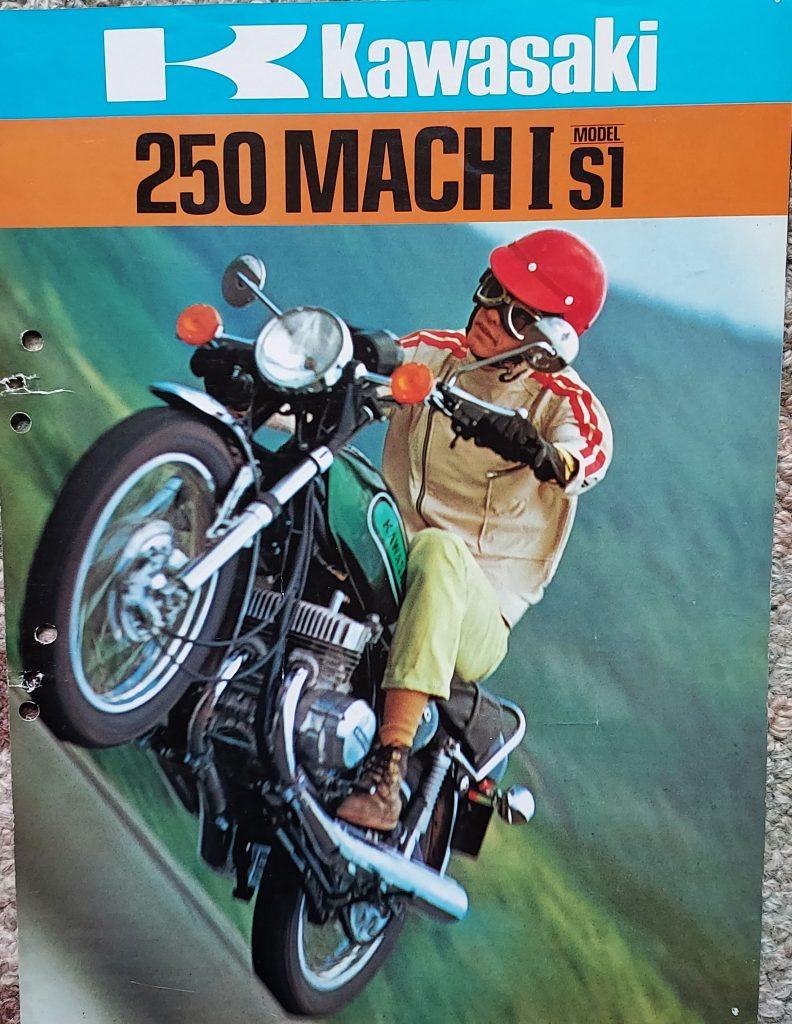 Kawasaki 250 Mach 1 brochure