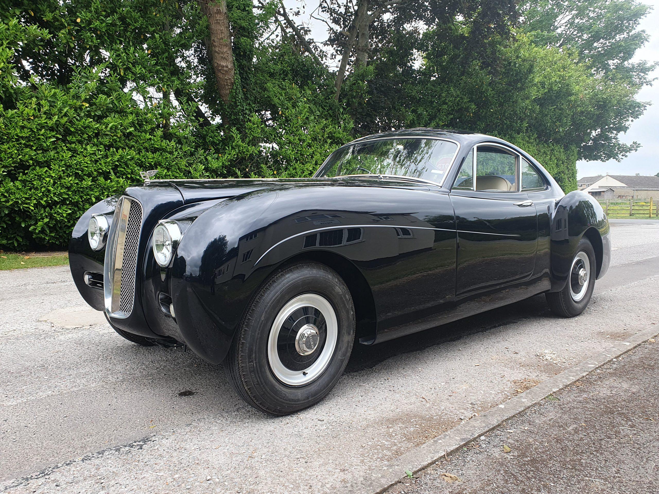 Capturing the coachbuilt past with Bensport's new La Sarthe Bentley