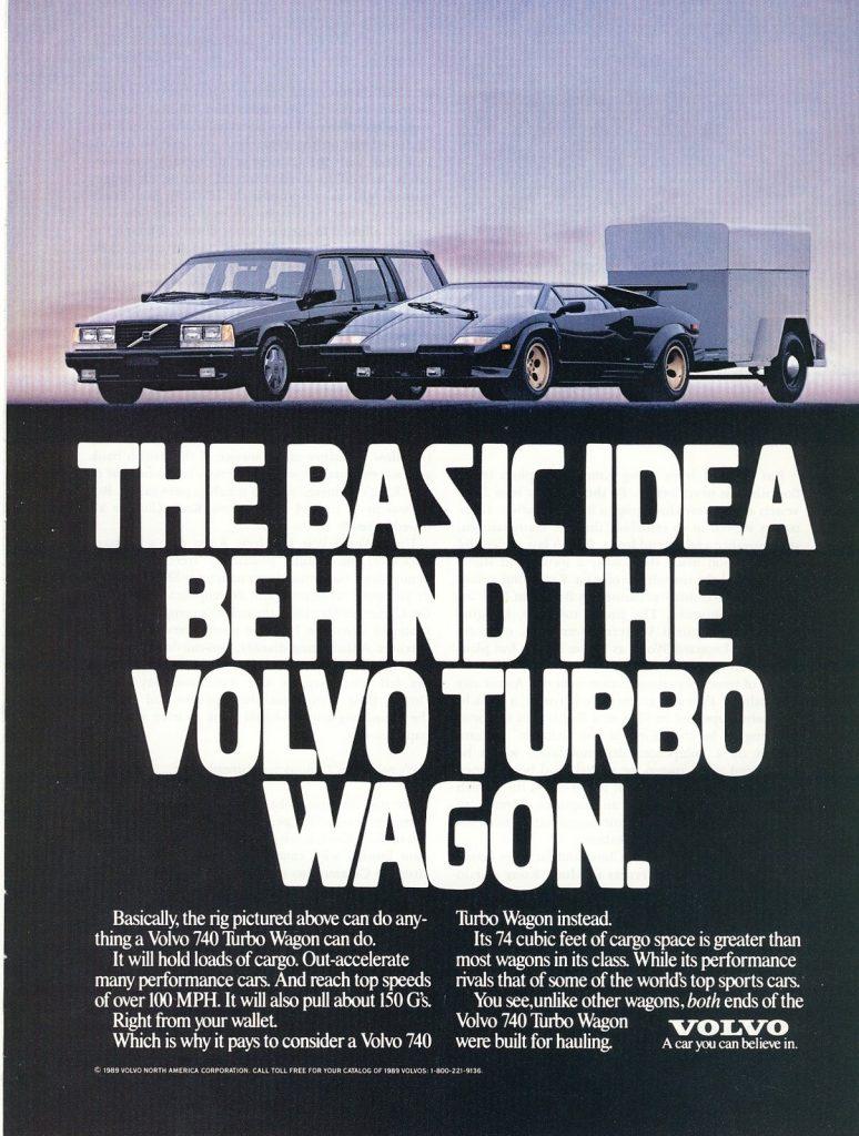 Volvo 740 Turbo advert