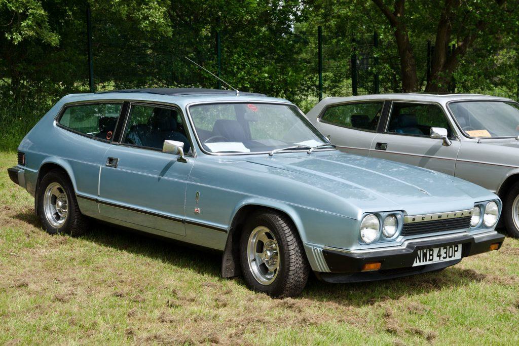 Second generation 1976 Reliant Scimitar GTE