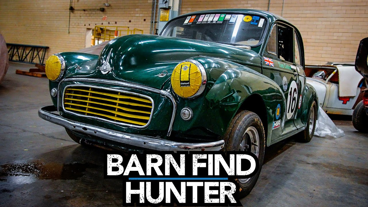 These are the cars owned by the original Mr Barn Find Hunter
