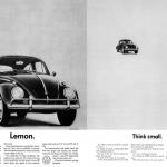 Volkswagen Beetle advert