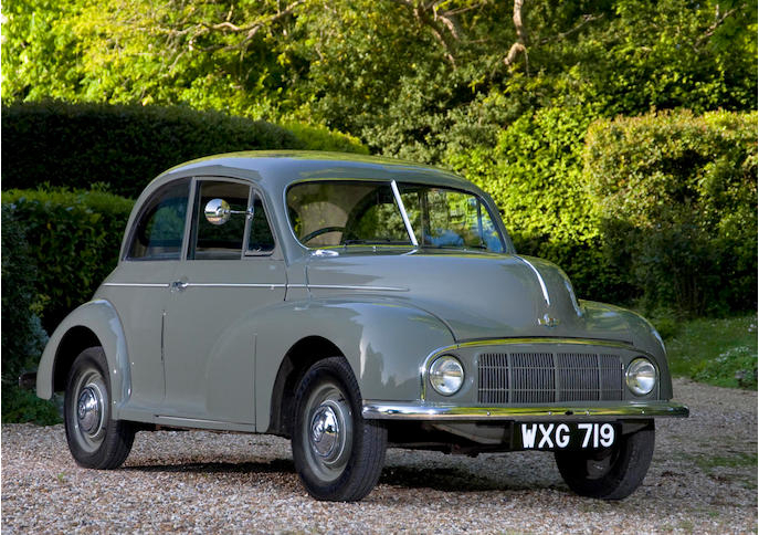 British cars floored by flaws_Morris Minor MM 1948