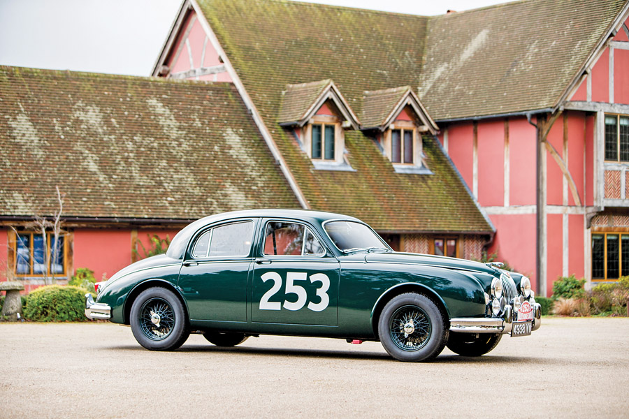 British cars floored by floors_Jaguar 3.4-litre 'Mk 1', 1957