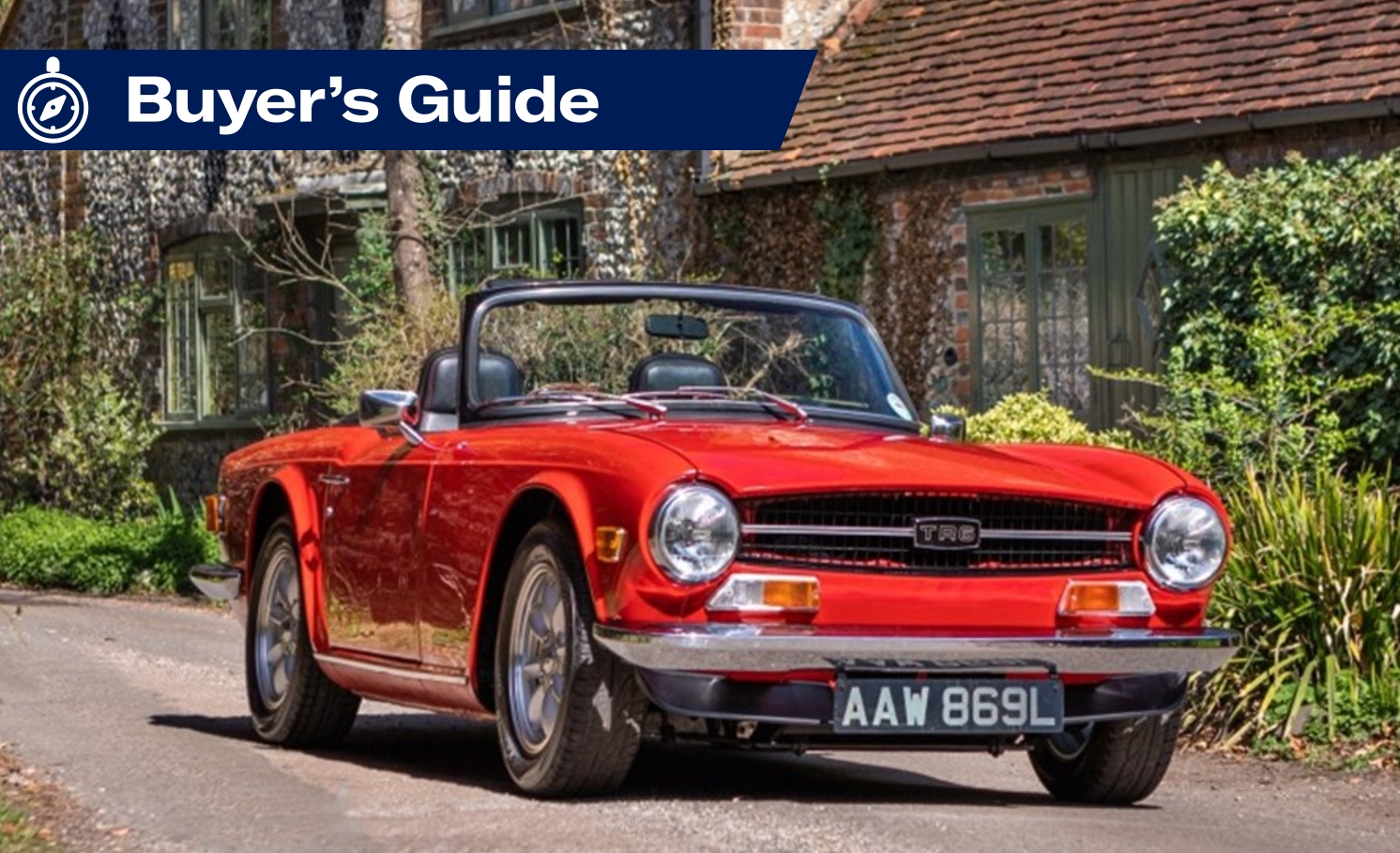 Buying Guide: Triumph TR4, TR5 and TR6
