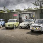 Tiny Happy People: Driving a titchy classic kei car is big fun