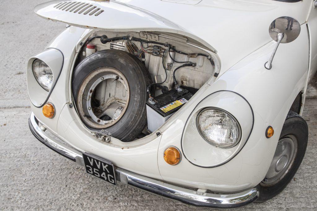 Spare wheel 1968 Subaru 360