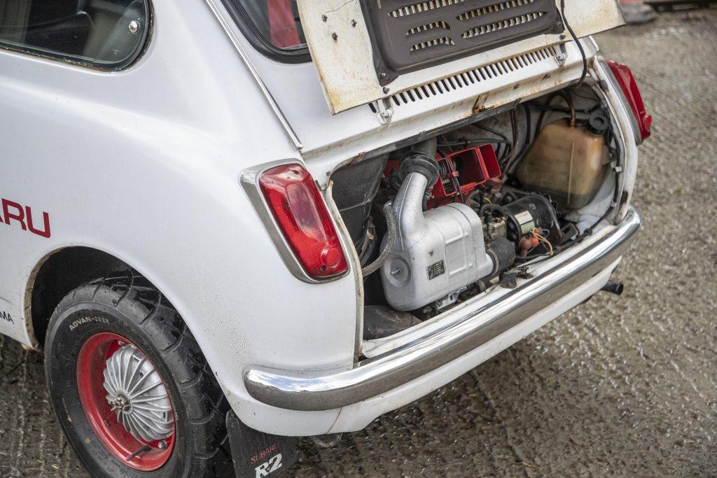 Subaru R-2 Sporty Deluxe engine