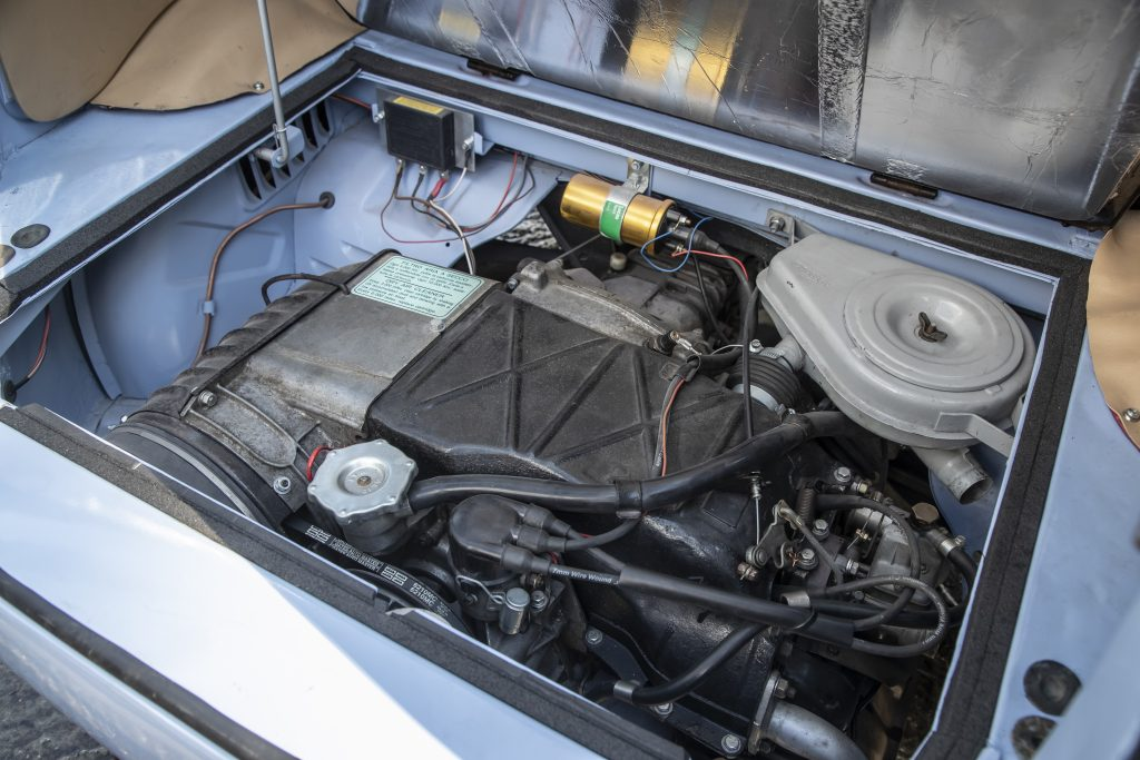 Fiat 500 Giardiniera engine