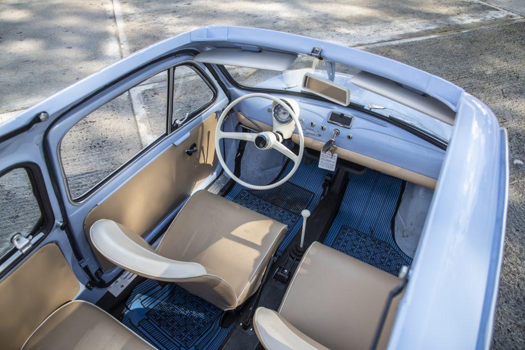 Fiat 500 Giardiniera sunroof