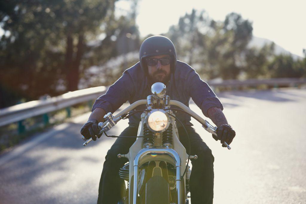 Yamaha custom bike Anthony Partridge