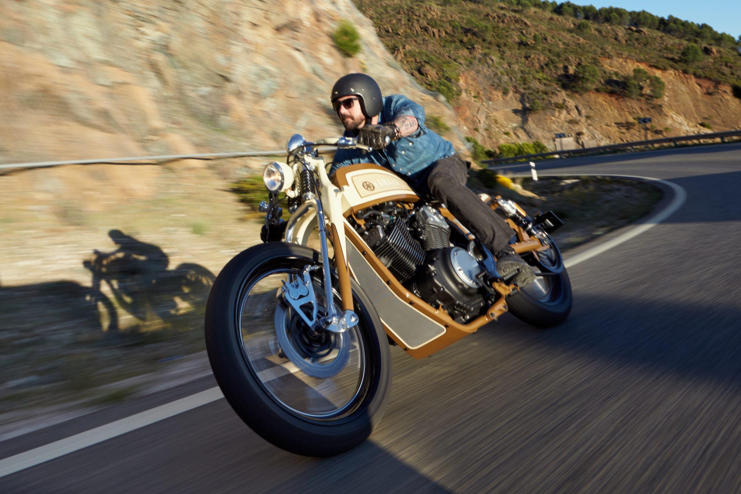 The One That Got Away: Anthony Partridge's Yamaha XV950 custom bike