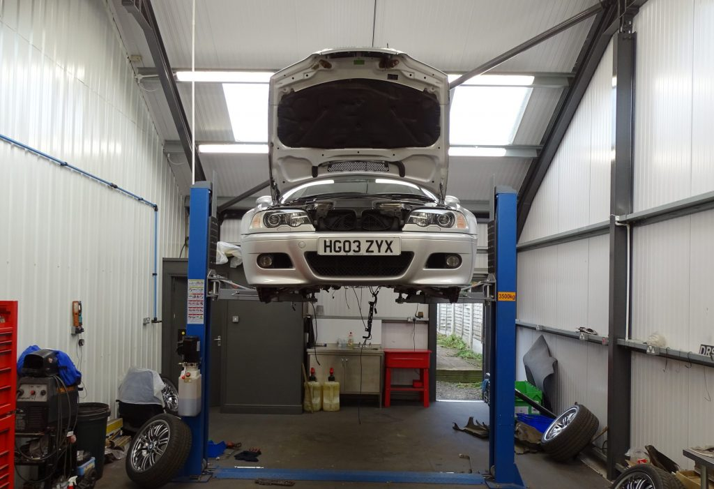 BMW M3 E46 restoration project_James Mills_Hagerty