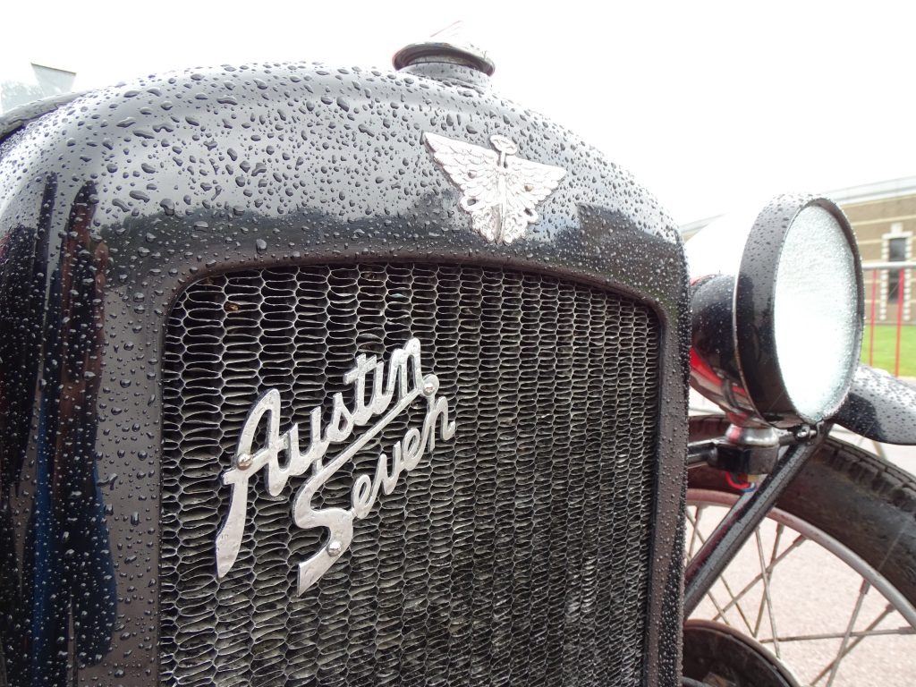 Austin Seven grille badge