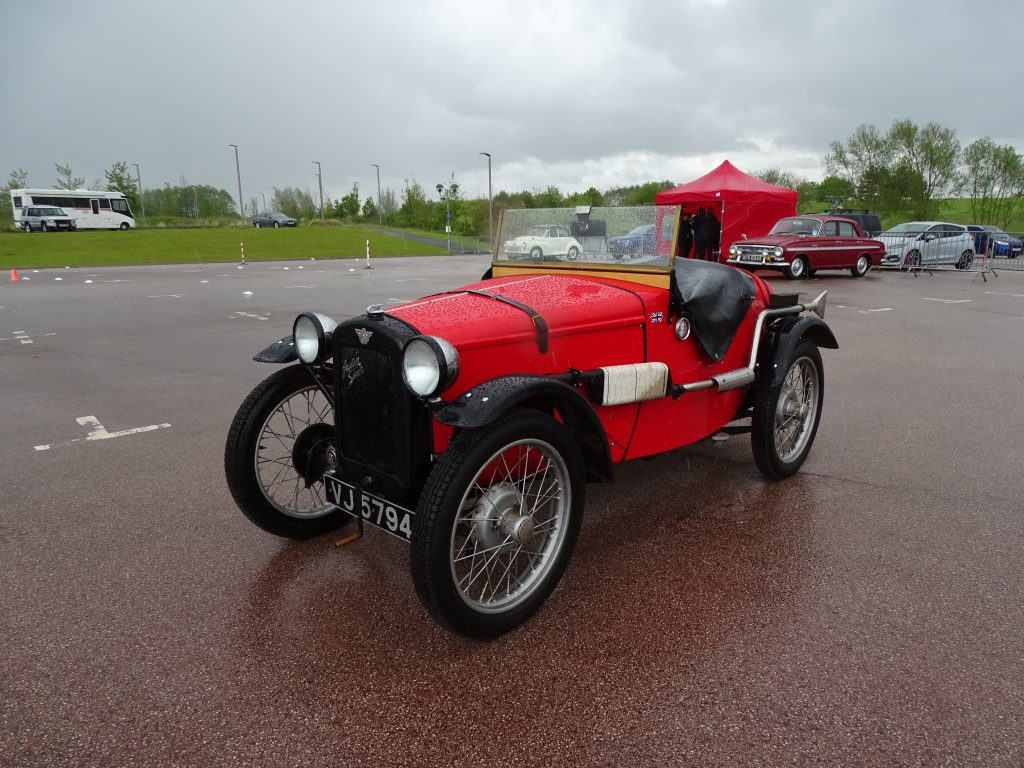 Austin Seven at the Young Drive Classic Car Experience
