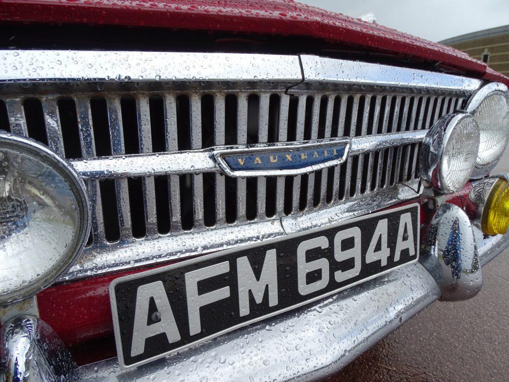Vauxhall VX4/90 grille
