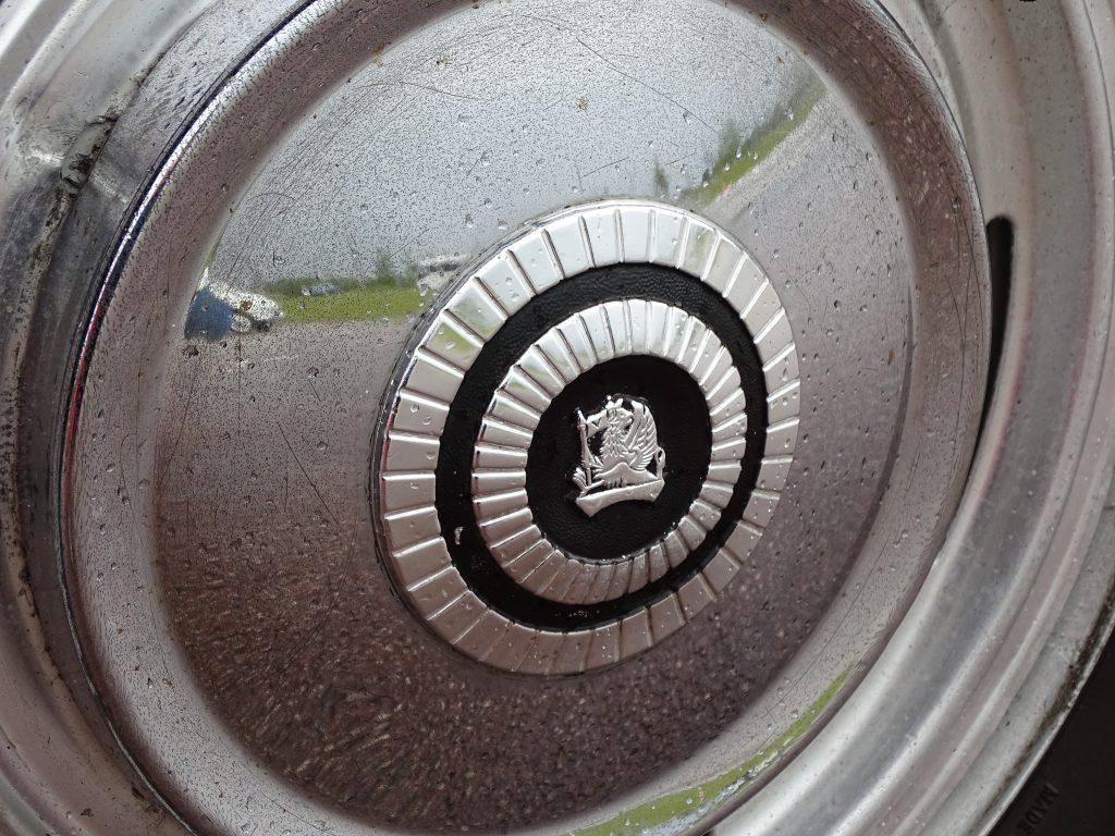 Vauxhall VX4/90 hubcap