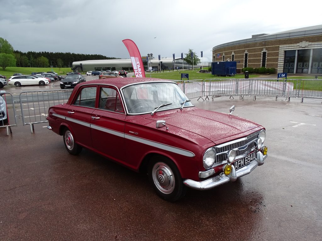 Vauxhall VX4/90 at Young Driver Classic Car Experience