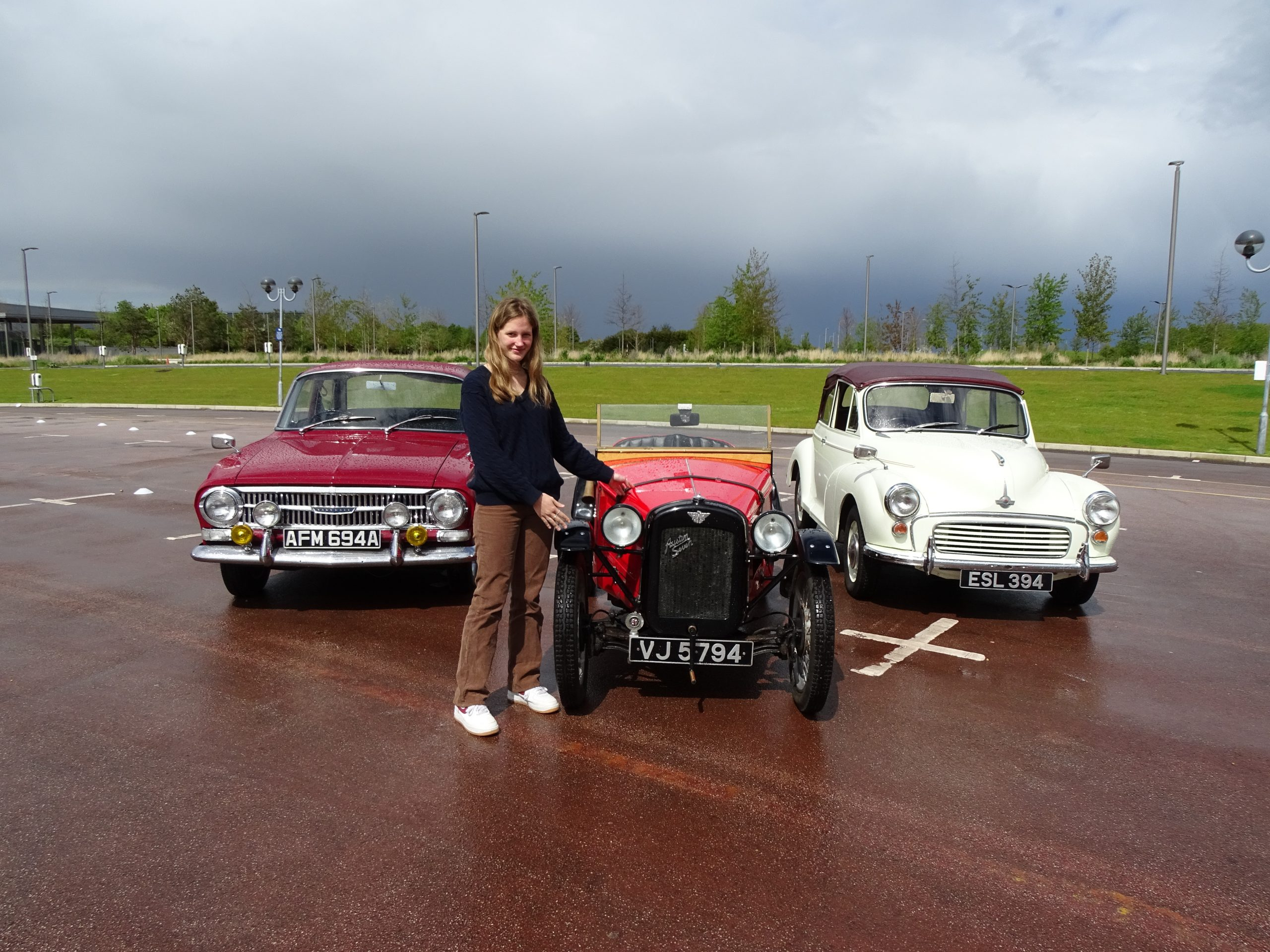 Start them old: Learning to drive in classic cars