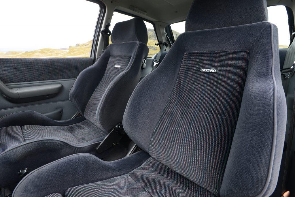 1990 Ford Fiesta RS Turbo Recaro seats